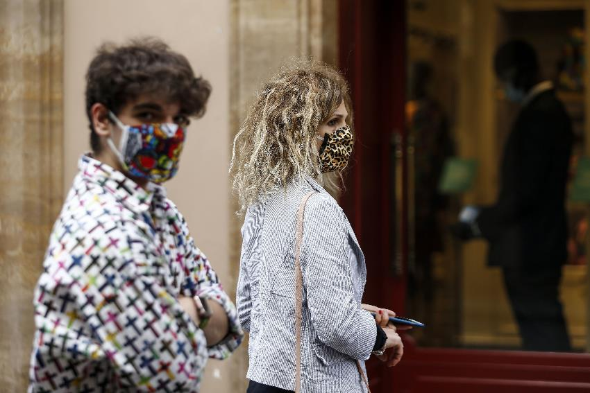 Surgical or homemade, masks mark a major shift in thinking