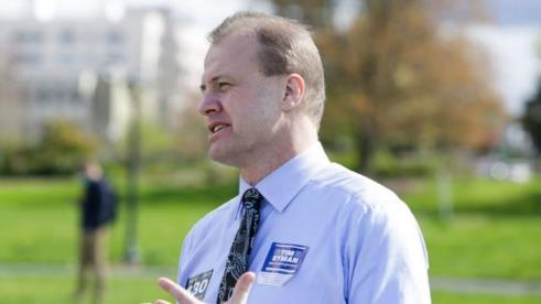 GOP Gov Candidate Actually Likens His State's COVID Lockdown to George Floyd's Murder