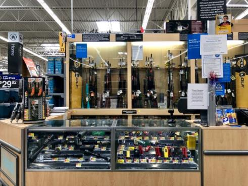 Walmart removes guns and ammunition from the sales floor of some stores amid protests