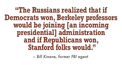 The Soviets wanted to infiltrate the Reagan camp. So, the CIA recruited a businessman to bait them.